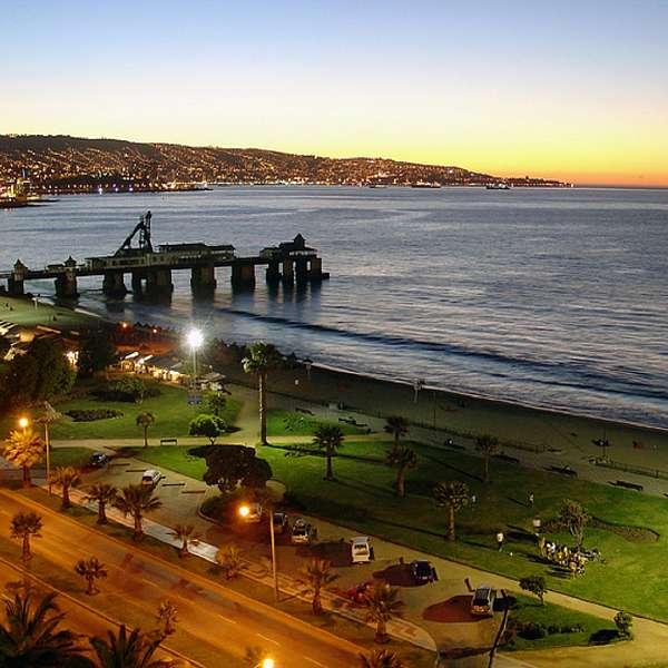 Chile: Santiago Y Viña Del Mar